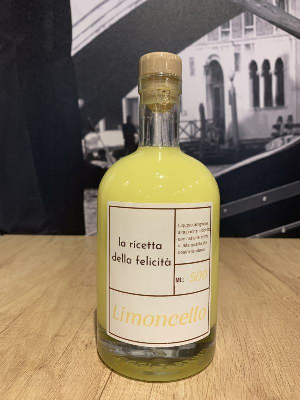 Liqueur crème de Limoncello