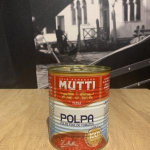 Mutti polpa pulpe de tomates 400g