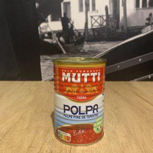 Mutti polpa pulpe de tomates 790 g
