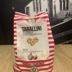 Tarallini aux oignons rouges